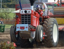 Tractor pulling in Lancashire